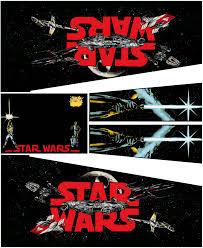 Star Wars Cabinet Star Wars Black Edition Pinball Cabinet Decals Retro Refurbs
