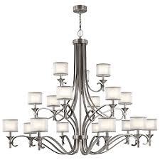 silver chandelier modern outdoor lighting kichler pendant light fixtures candle ceiling lights deer antler wood professional lighted makeup mirrors