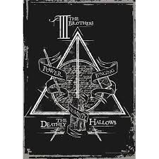 Film Cells Mp17240195 Harry Potter Deathly Hallows The Brothers Mighty Print Wall Art
