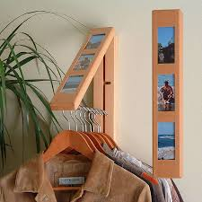 space saving. Space-Saving Entryway Furniture. 1. Rebrilliant Clothes Hanging System Space Saving