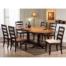 Iconic Furniture OV-90 Oval Double Butterfly Leaf Table