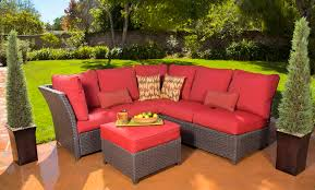 ohana outdoor patio wicker furniture reviews. sectional sofa and ottoman design from ohana patio furniture combine with green grass reviews outdoor wicker l