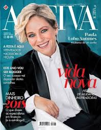 Her character aurora, in the tv series a escrava isaura (2004) was initially. Paula Lobo Antunes Activa Magazine January 2018 Cover Photo Portugal