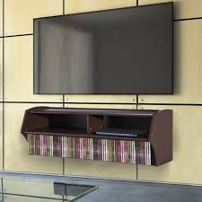wall mount tv stand s with shelves