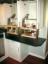 pull down shelf hardware kitchen cabinet shelves wall out drop ikea