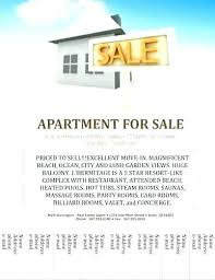 House For Rent Flyer Template Word House For Sale Poster Free Rental Advertisement Template