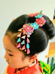 7歳七五三 新日本髪 古典柄のお着物にとてもよく合う和装ヘアsylph