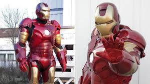 if any homebrew iron man suit looks like it could go toe to toe with the real tony stark it s this one made from fibreglass with a flexible plastic used