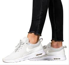 Air Max Thea Light Grey Nike Womens Air Max Thea Light Is Equipped With Comfortable Cushioning And Is Designed With A Sleek For Sneakers Size Us 8 5 Narrow Aa N 40 Off