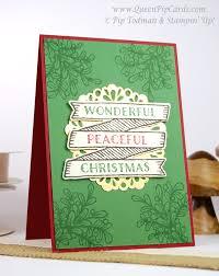 Creative Christmas Cards Stampin Creative Christmas Card Ideas Blog Hop Queen Pip Cards