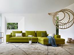 Living Room Design: 15 Green Sofa - Living Room Decor