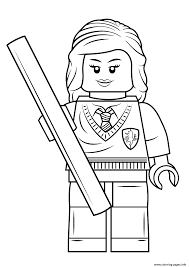 Small Picture lego hermione granger harry potter Coloring pages Printable