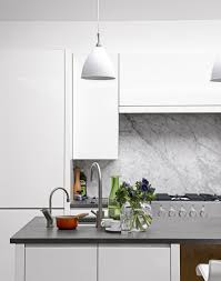Splashback White Kitchen White Kitchens With The Wow Factor The Room Edit
