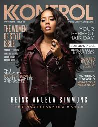 kontrol magazine cover makeup artist mimij