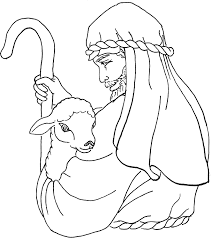 I love this lesson, i am currently working on a children's devotional about jesus the good shepherd, is it okay if i use the coloring sheet and poem? Good Shepherd Coloring Pages Free Coloring Home