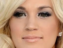 carrie underwood s eye makeup amazing