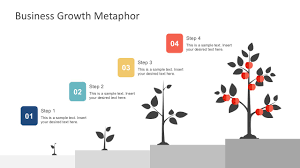 Template Tree Free Business Growth Metaphor Template For Powerpoint