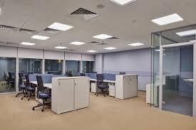 white office design. Fine White Light Blue And White Office Design In