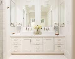 Bathroom  Floating Bath Cabinets Washroom Vanity Double Bowl 5 Foot Double Sink Vanity