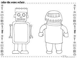 bnute productions: Robot Party: Free Printable Art Activities and ...