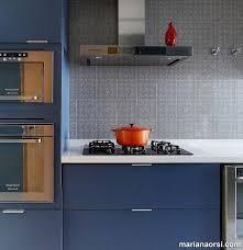 Adesivo destacável azulejo para cozinha braga azul claro. 30 Cozinhas Decoradas Para Quem E Apaixonado Por Azul
