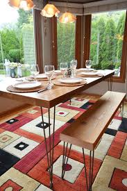 reclaimed barn wood dining table