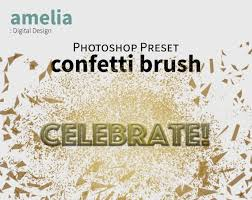 Confetti Brush Photoshop Photoshop Brush Confetti Glitter Geometric