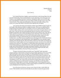 persuasive essay gun control address example 9 persuasive essay gun control