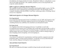 Astounding Design Best Resume Objective Examples Of Resumes