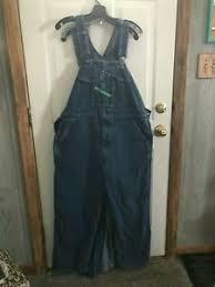 Details About Mens Key Imperial Denim Bib Overalls Jean Pants Size 40 X 28 Euc