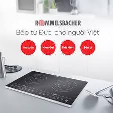Chiếc bếp từ thông dụng nhất,rẻ bền lại... - Bếp điện từ CHLB Đức  Rommelsbacher