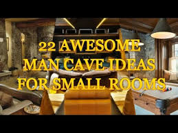 22 AWESOME MAN CAVE IDEAS FOR SMALL ROOMS