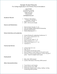 resume for students format sample resume college student artemushka com