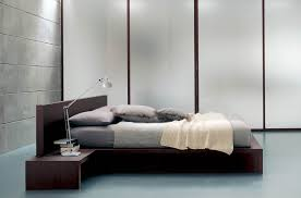 modern bed side view. Delighful Side Plano Has A Bed  With Modern Bed Side View B