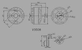 sunnysky v3508 380kv more views sunnysky v3508 380kv