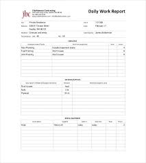 64 Daily Report Templates Word Pdf Excel Google Docs