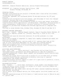ascii format resume ascii resume resume ideas
