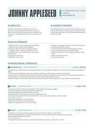 Contemporary Resume Templates 11 Modern - nardellidesign.com