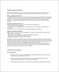 Strong Objective For Resume Resume Objective Examples For A Stunning Career Ambitions Examples Resume