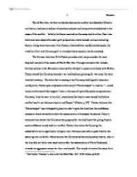 historiographical analysis of world war one university  page 1 zoom in