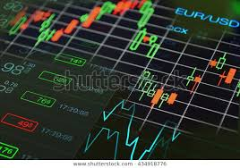 Forex Trading Concept Forex Charts Graph Stock Photo Edit