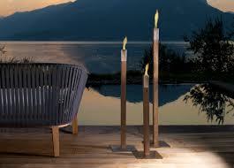 outdoor torch lighting. tribu phoro garden torch outdoor lighting