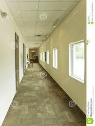 office hallway. building glass hallway office