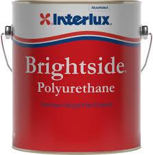 Interlux Paint Chart Brightside Polyurethane Topside Paint Interlux