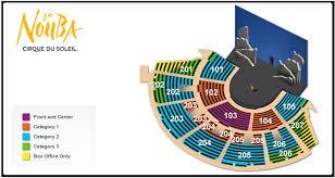 Wynn Le Reve Seating Chart Bellagio Venue Seating Chart Kooza Seating Plan Criss Angel