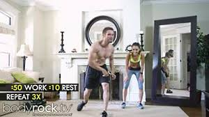 fitness video hot touch workout
