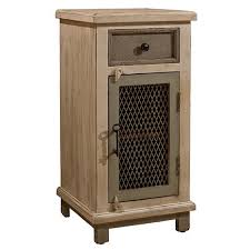 Hillsdale LaRose Cabinet with Chicken Wire Accent