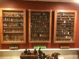 diy display case awesome 68 best shot glass display images on of diy display case