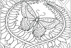 Flowers And Butterflies Coloring Pages Printable Coloring Pages