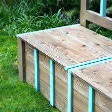 deck storage bench outdoor storage bench homemade outdoor storage bench deck storage box plans outdoor
